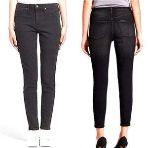 Mossimo Washed Out Black High Rise Jegging